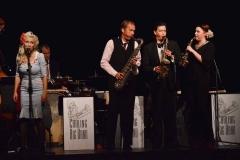 Sång till sax-ensemble.